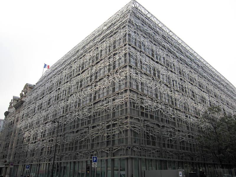 フランス文化省のビル、photo ...
